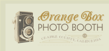 Orange Box Photo Booth logo